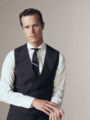 CHALECO LANA SLIM FIT PERSONAL TAILORING