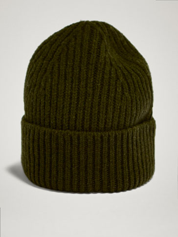 WINTER CAPSULE 100% WOOL RIB HAT