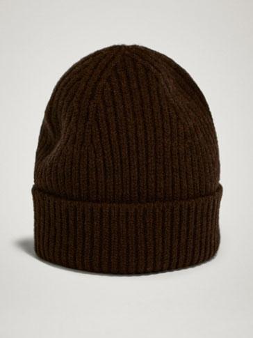 WINTER CAPSULE 100% WOOL TEXTURED RIB HAT