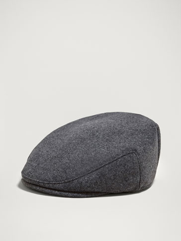 LIMITED EDITION FLANNEL WOOL/CASHMERE CAP