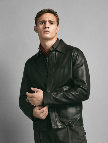 LIMITED EDITION BONDED NAPPA LEATHER JACKET