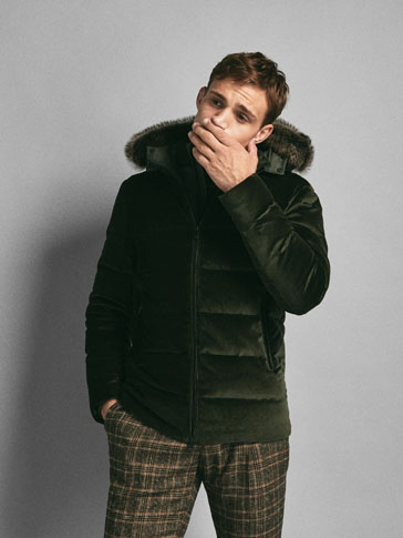 LIMITED EDITION MOLESKIN QUILTED COAT