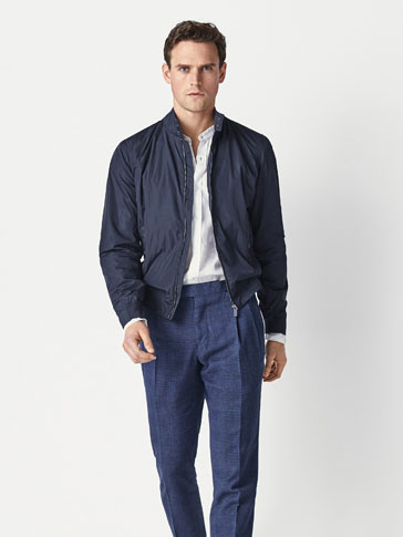 NAVY BLUE TECHNICAL JACKET