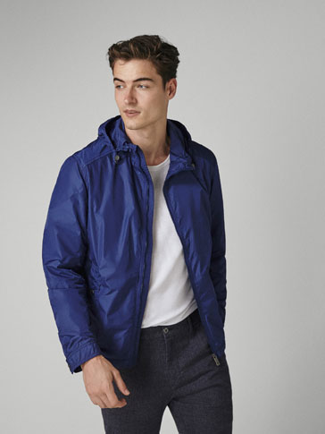 BLUE TECHNICAL JACKET