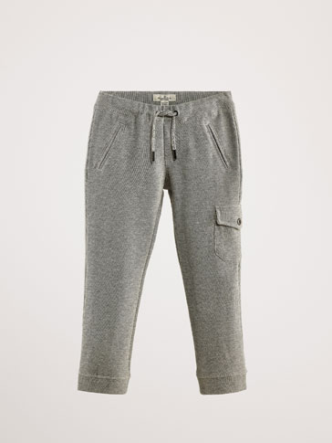 KATOENEN CARGO BROEK JOGGING FIT
