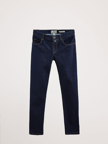 PANTALONI REGULAR FIT DIN DENIM