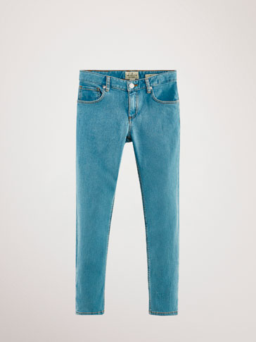 PANTALONI DIN DENIM SLIM FIT