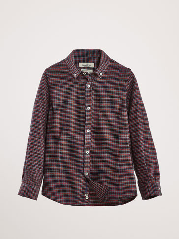 ONLINE EXCLUSIVE CHECK COTTON SHIRT