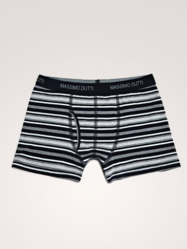 MULTI-STRIPE BOXERS
