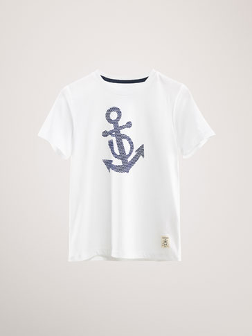 ANCHOR COTTON T-SHIRT