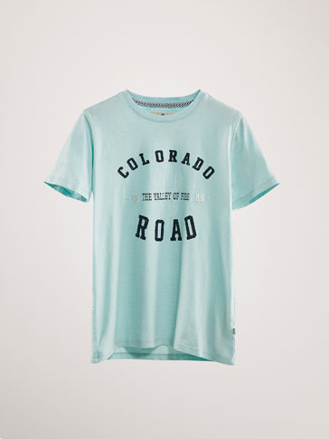KATOENEN T-SHIRT COLORADO ROAD