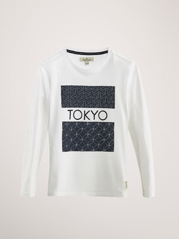 CAMISETA ALGODÓN TOKYO