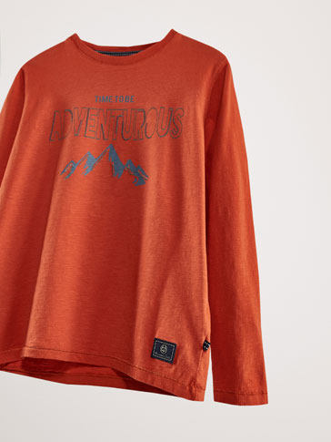 COTTON ADVENTUROUS SWEATSHIRT