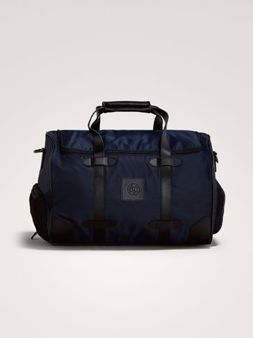 TECHNICAL LEATHER BAG