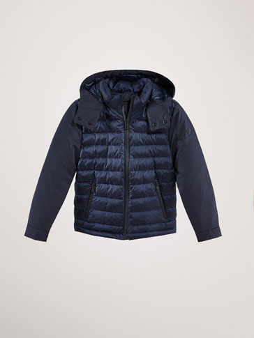 DOWN PUFFER JACKET WITH THERMO-SEALING
