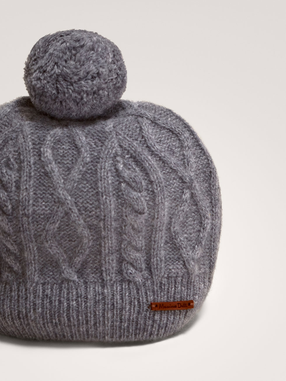 Cashmere Cable Knit Hat 9a4f46ab9468