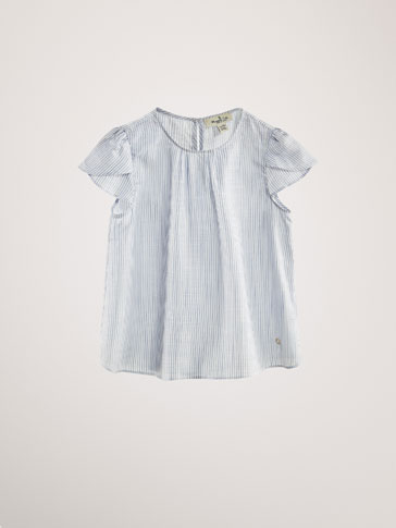 STRIPED LYOCELL SHIRT