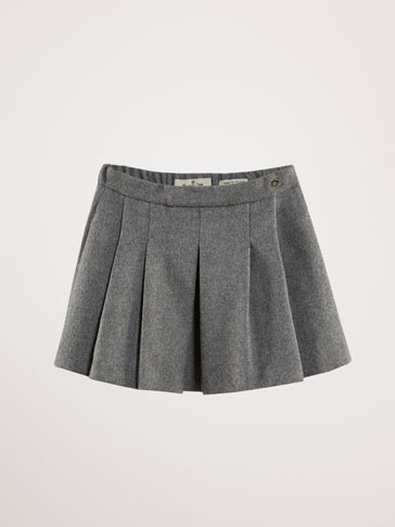 LIMITED EDITION PLEATED SKIRT