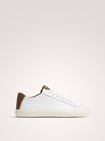 TENNIS NAPPA BLANCHES