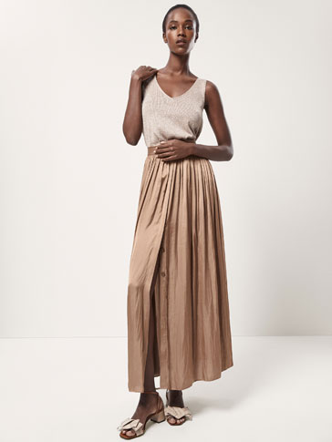 LONG FLOWING SKIRT