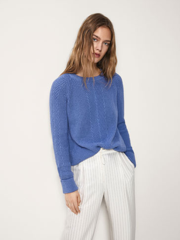 SWEATER I PATENTSTRIK
