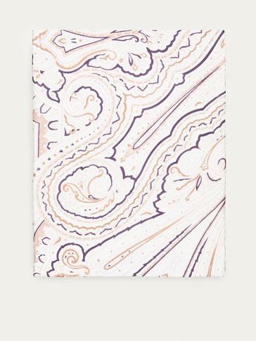 فولار حرير نقشة البيزلي
