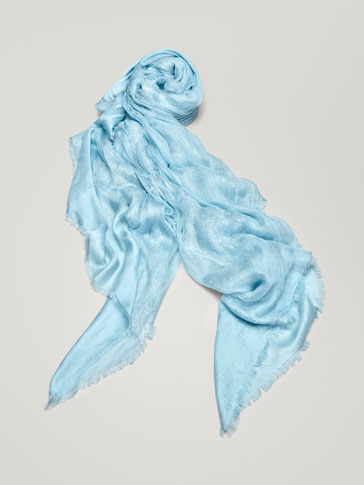 FOULARD FINITION BRILLANTE