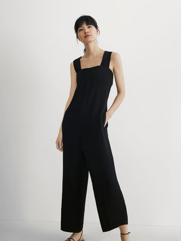 JUMPSUIT WITH BACK STRAP DETAIL