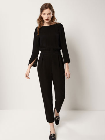 JUMPSUIT WITH PIN TUCKS