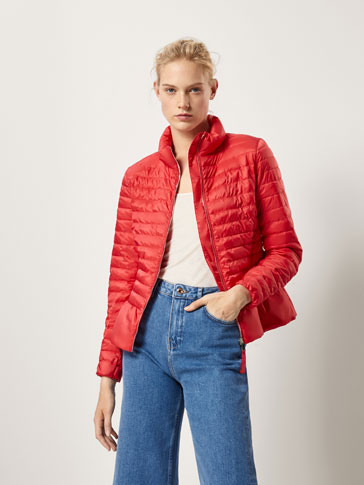 EMBELLISHED QUILTED DOWN JACKET