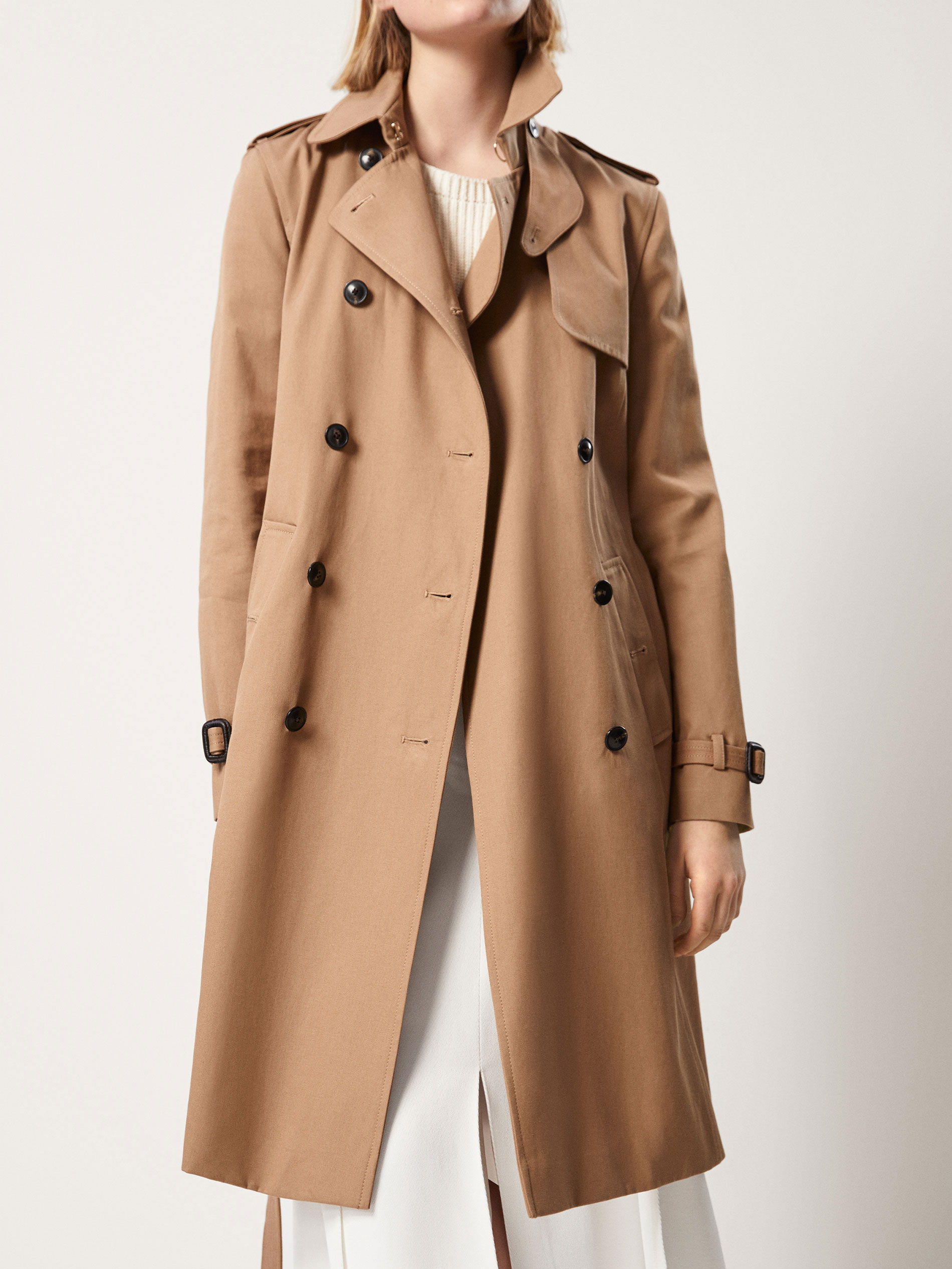 Massimo Dutti Classic Camel Trench Coat At 163 149 Love The