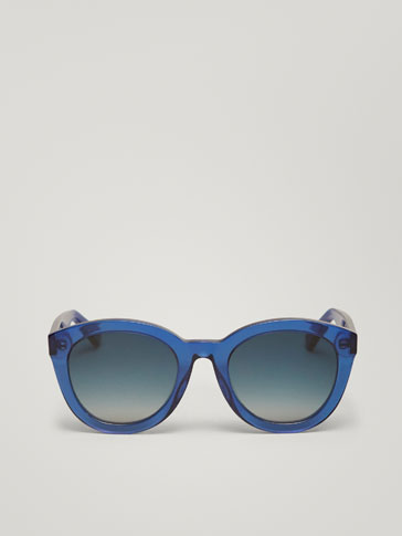 LARGE MONOCHROME SUNGLASSES