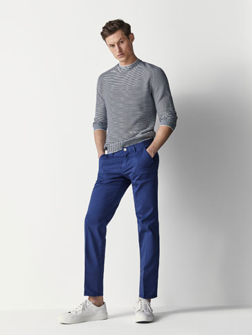 CASUAL-FIT BUKSE TYPE CHINOS