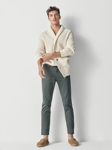 EXTRA SLIM FIT CHINOS