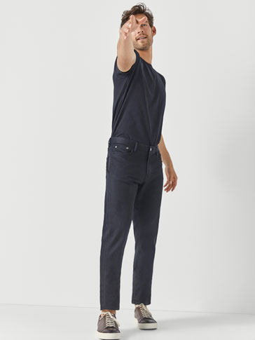 PANTALONI TIP BLUGI SLIM FIT BLACK