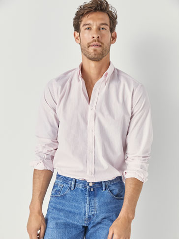 CAMICIA A RIGHE SLIM FIT