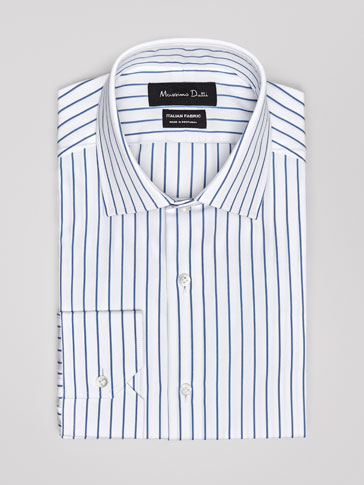 CHEMISE COTON À RAYURES SLIM FIT PERSONAL TAILORING
