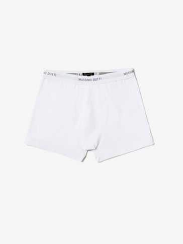 PLAIN BOXER BRIEFS