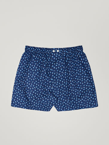 FLOWER PRINTED UNDERPANTS