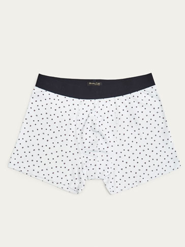 BOXER SHORTS WITH FLORAL PRINT