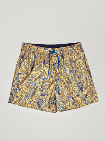 JUNGLE PRINT SWIMMING TRUNKS