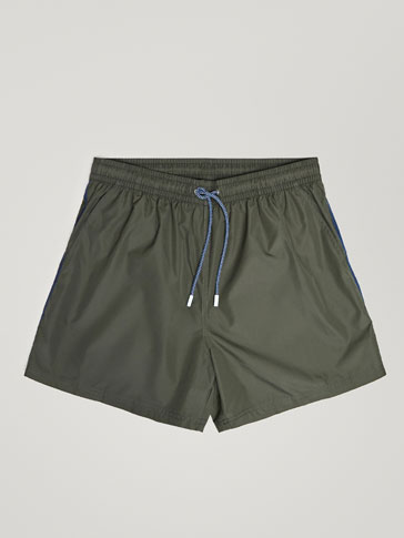 SWIMMING TRUNKS WITH SIDE DETAIL