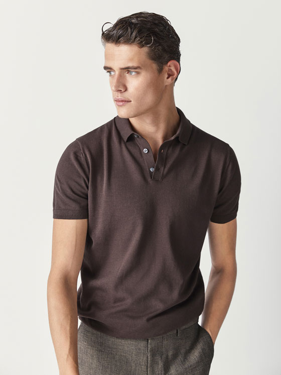 Men's T-shirts and Polo Shirts | Massimo Dutti Spring Summer 2018