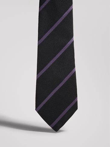 ربطة عنق حرير تخطيط قطري PERSONAL TAILORING