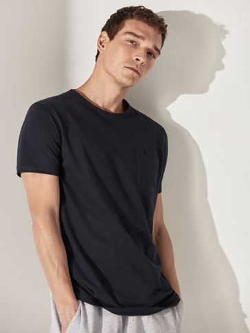 DOUBLE POCKET COTTON T-SHIRT