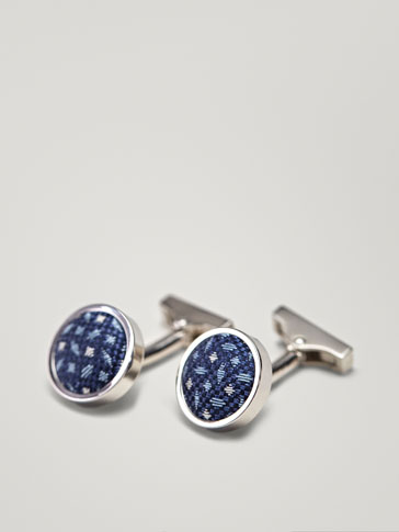 FABRIC DETAIL CUFFLINKS