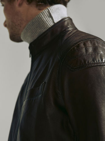 NAPPA JACKET WITH SEAM DETAIL