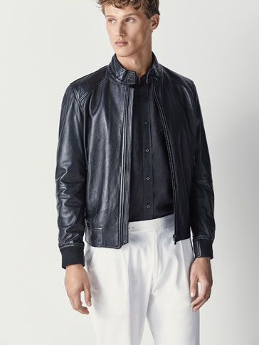 NAPPA BOMBER JACKET WITH THERMO-SEALED DETAIL