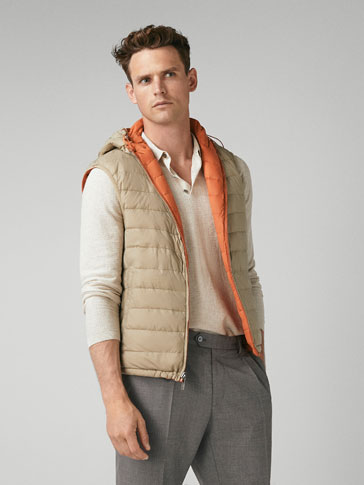 GILET PIUMINO DOUBLE FACE