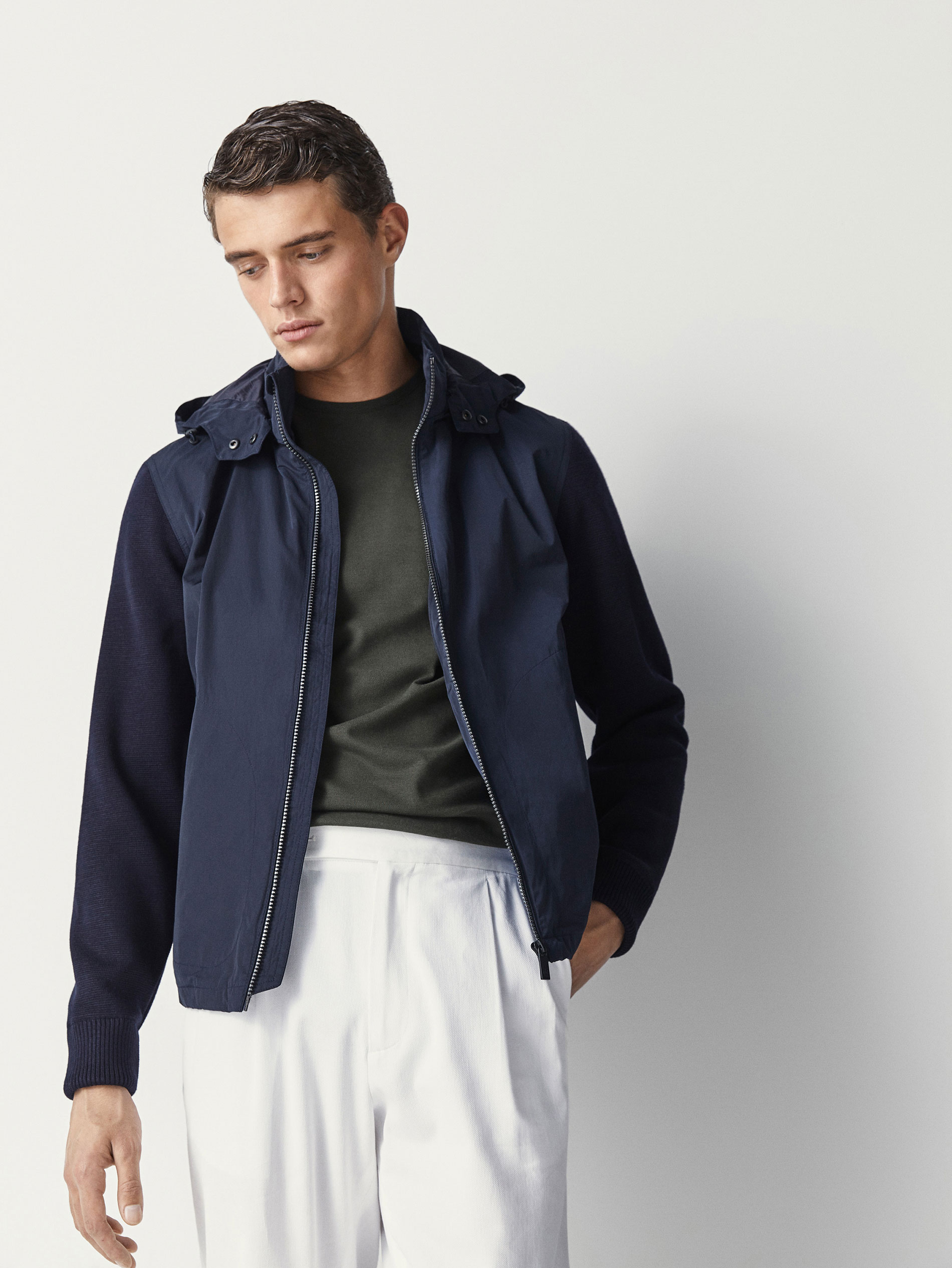 Retro Leather Bomber Jacket UK40reg - Sales Up to -50% Tommy Hilfiger Footlocker Finishline Cheap Price Cheap Find Great Udf66Jn2A
